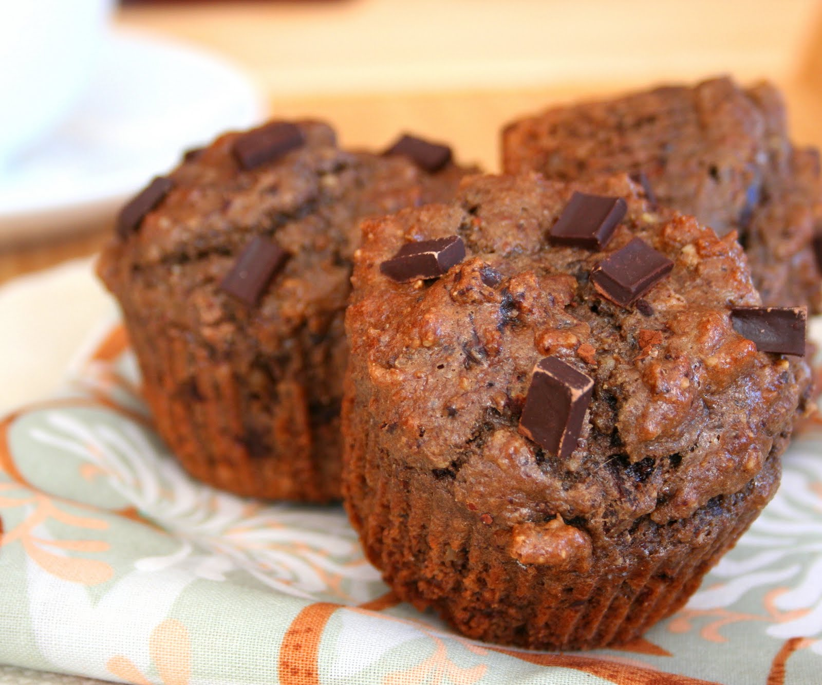 Low Carb Double Chocolate Protein Muffins | All Day I Dream About Food