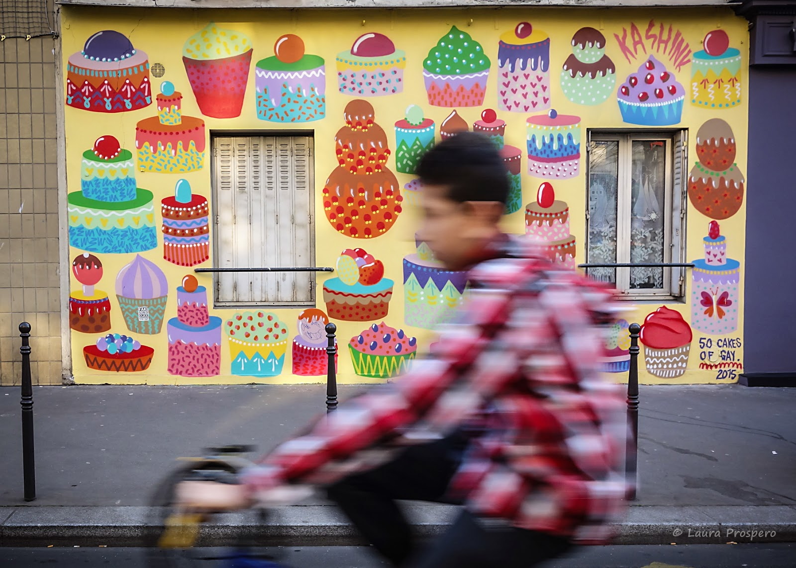 street art by kashink 2015 © Laura Prospero
