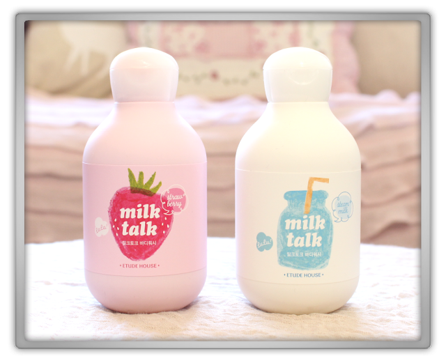 Random Etude House innisfree Haul Review 2015 beauty blogger milk talk body wash cleanser strawberry talk steam talk