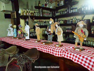 Restaurante Grande Sertão: Elementos decorativos