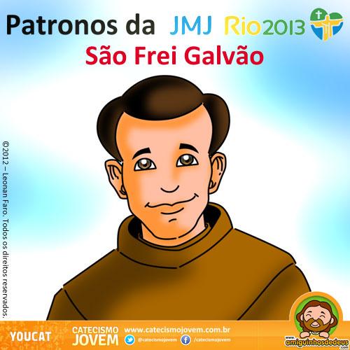 NORMAS DEL FORO Patronos+da+JMJ+Rio2013+-+São+Frei+Galvão+(1)