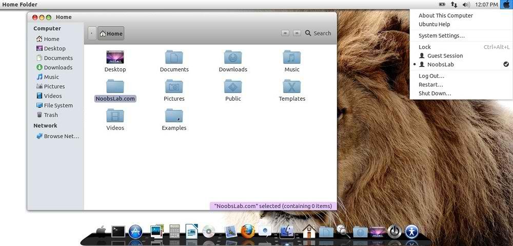macbuntu icons