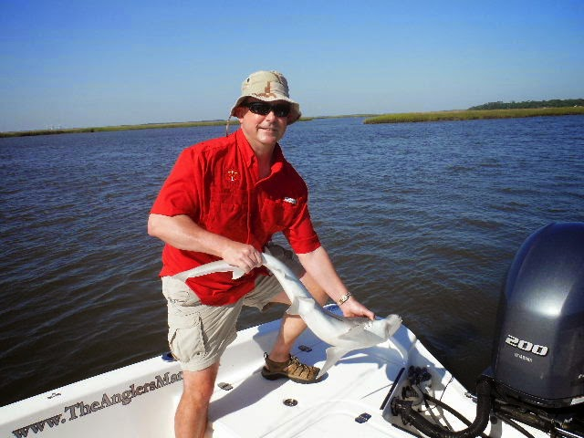 Amelia island fishing reports a day full of surprises for Amelia island fishing