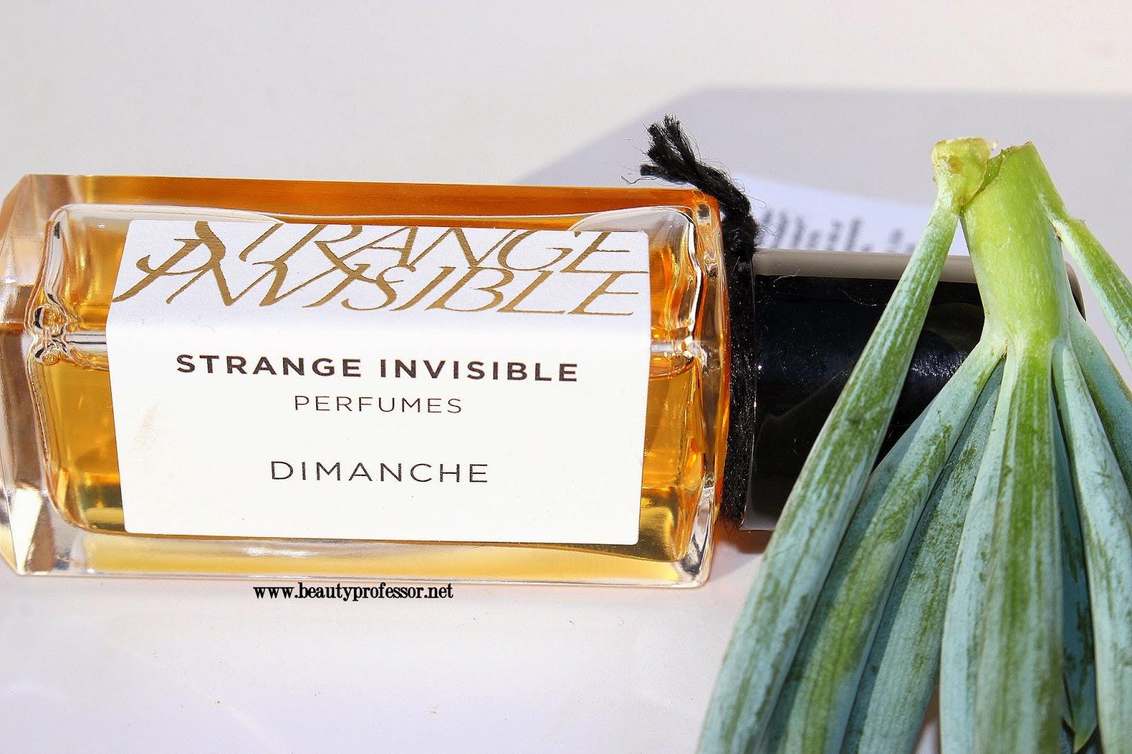 strange invisible perfume dimanche