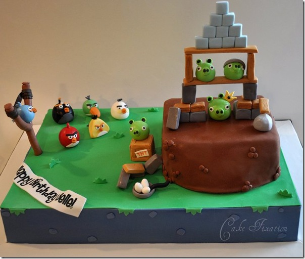 Many Means: ANGRY BIRDS BIRTHDAY CAKES : Do you wanna your ...