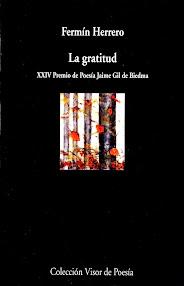 Lectura de La gratitud, de Fermín Herrero.