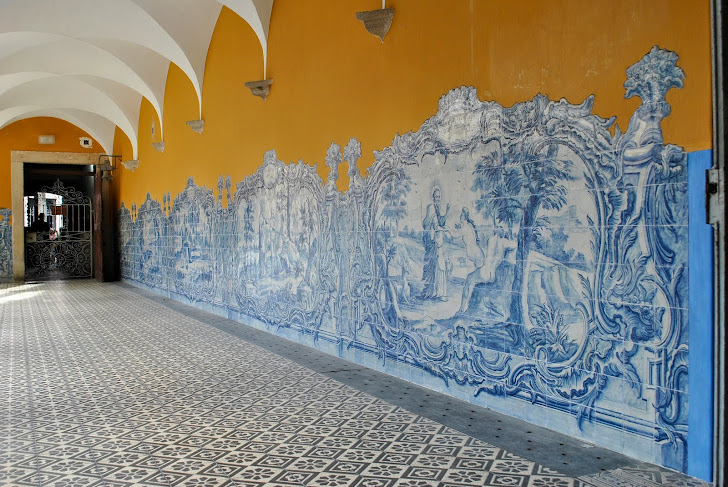 Azulejos portugueses do Convento de Santo Antônio