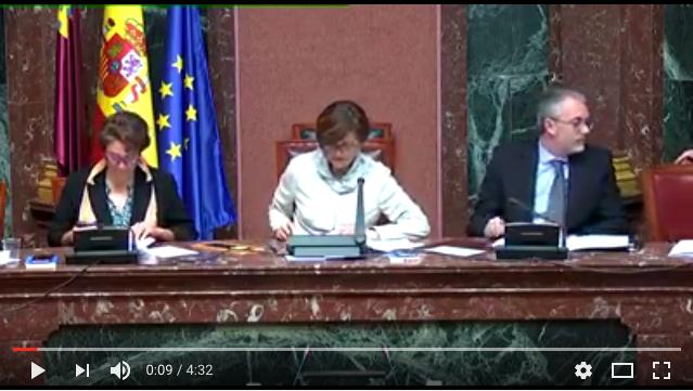 Declaración en Asamblea de Murcia