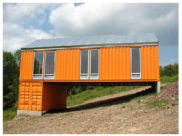 Tim steel structures shipping container house shipping for Structure container maritime