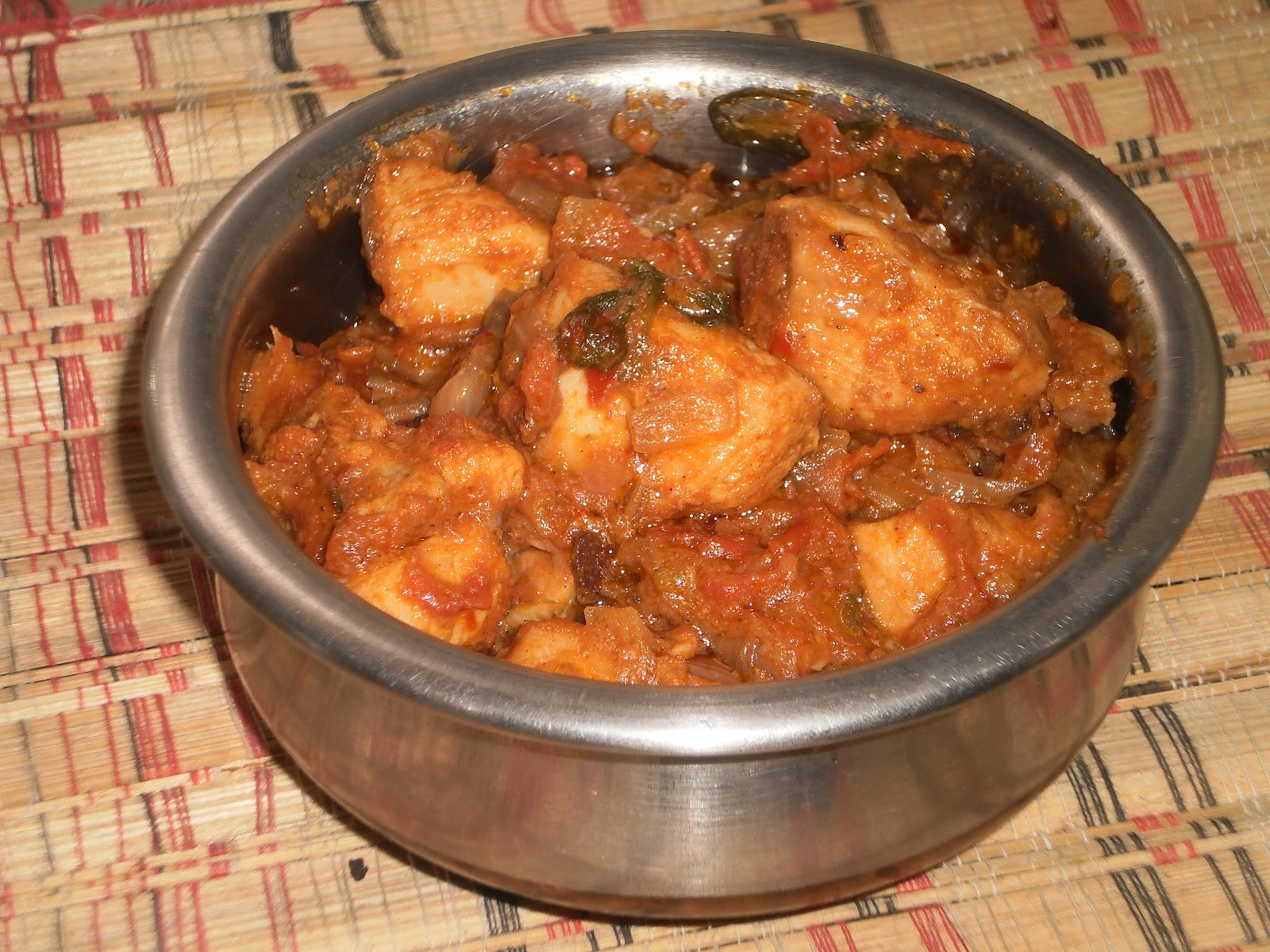 Kadai Chicken Recipe/Kadhai Chicken Curry ~ Easyfud