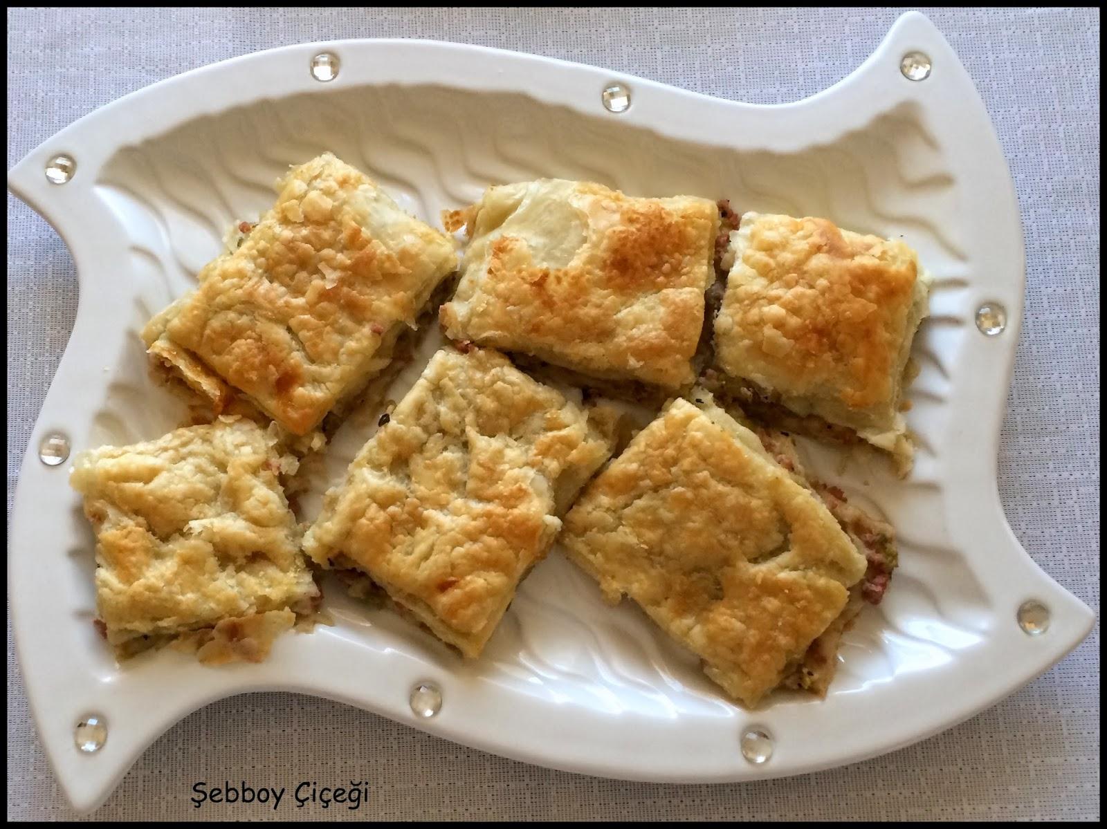 milföylü ve yufkalı börek