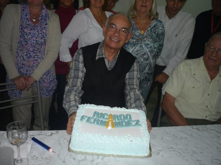 Un festejo militante ¡Feliz cumple Ricardo!!!