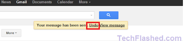 How To Undo A Sent Email Message In Gmail | TechFLashed
