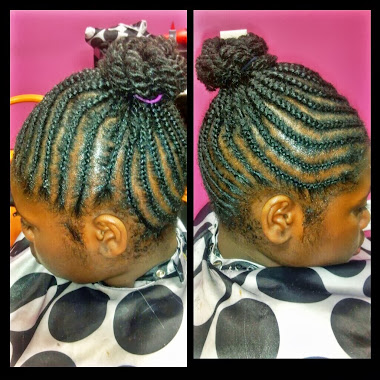 Corn Rowz / Twist Bun