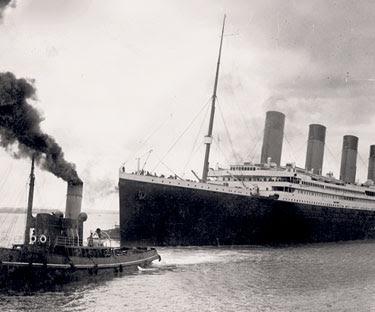 GAMBAR fail menunjukkan kapal Titanic pada 4 April 1912.