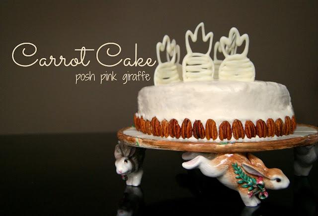No Ordinary Carrot Cake! ~ Posh Pink Giraffe
