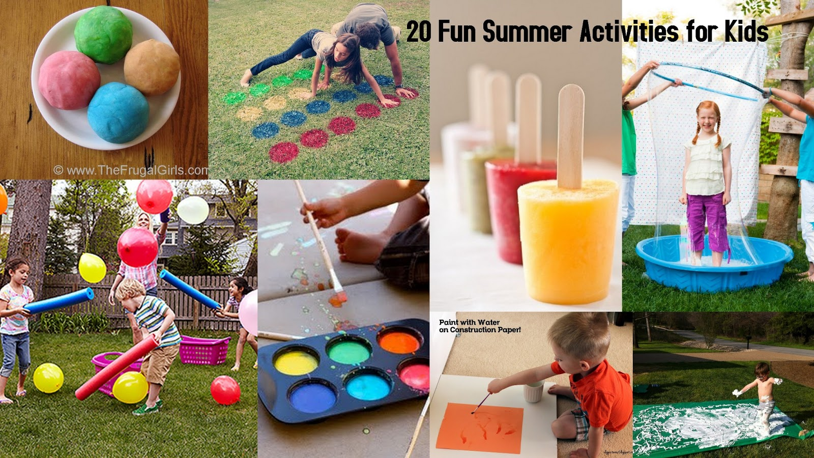 20 fun summer activities for kids i dig pinterest for Fun projects for kids to do at home