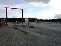 Dry RV area