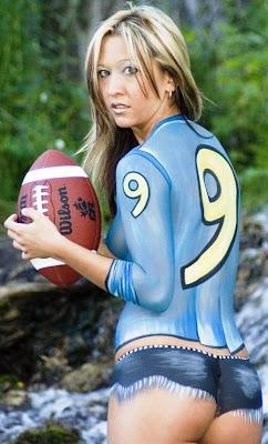 Sexy nfl football fans