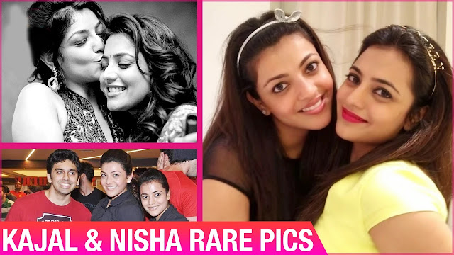 Kajal Aggarwal & Nisha Aggarwal Rare Pics | Unseen Pics