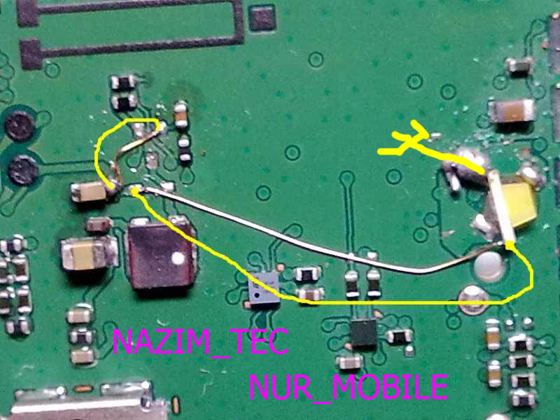 Nokia 1280 LCD Light Jumper