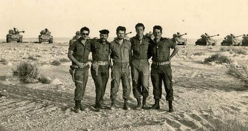 IDF Sherman platoon pre 1967