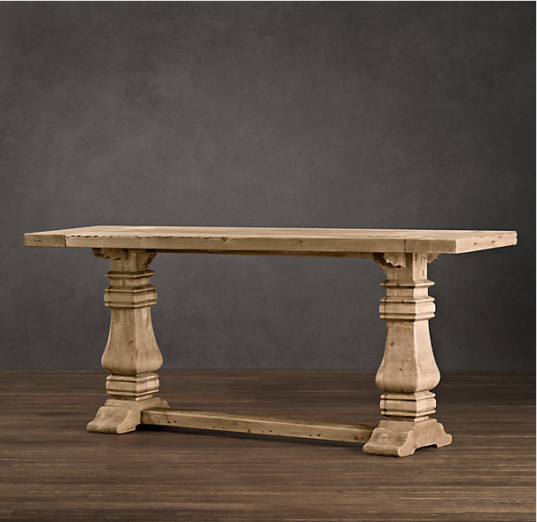 Brilliant Restoration Hardware Trestle Table 606 x 590 · 409 kB · png