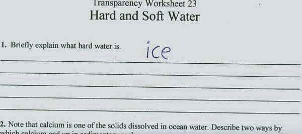Here Are 25 Kids That Gave Absolutely Brilliant Answers On Their Tests. These Are Hysterically Genius. - Well, he's not wrong