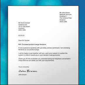 Business letter how to write