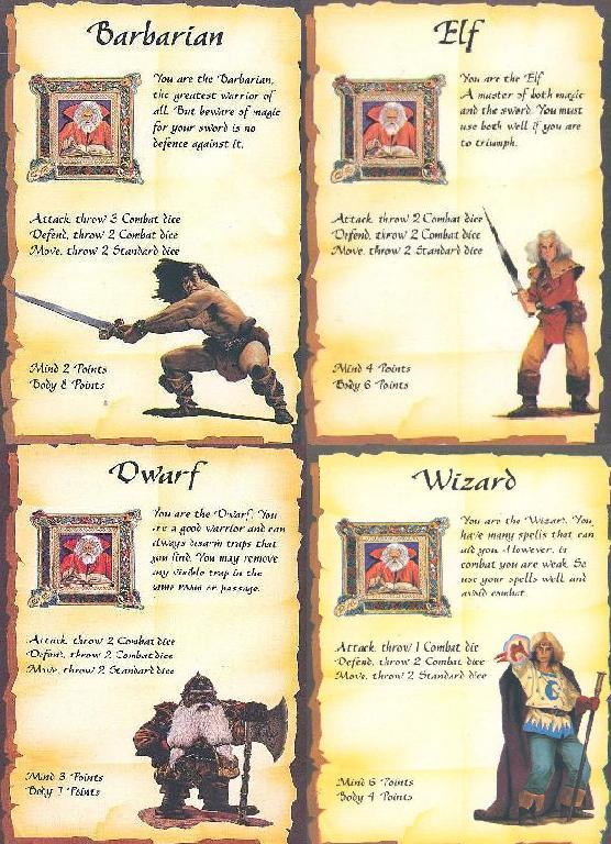 A Super Simple Elven Archer And Wizard Steve Jackson