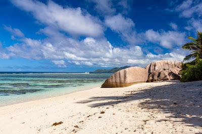 Anse Source d'Argent - Strandabschnitt im Süden