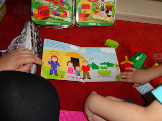 Reading the Duplo Read and Build Book