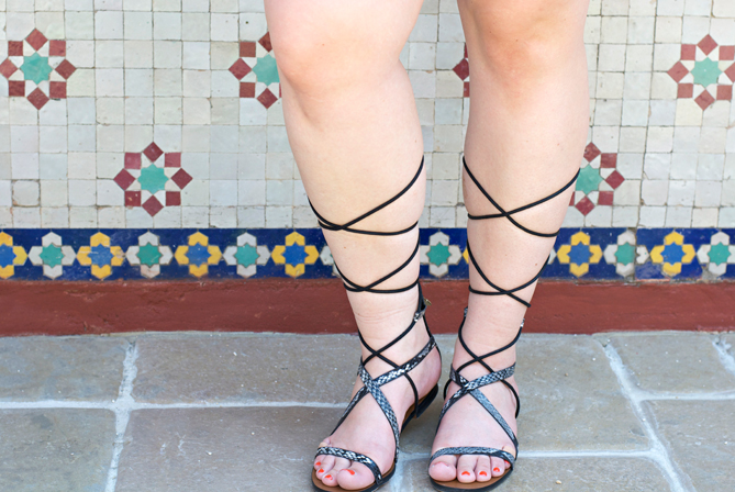 mango strap up gladiator sandals snakeskin black