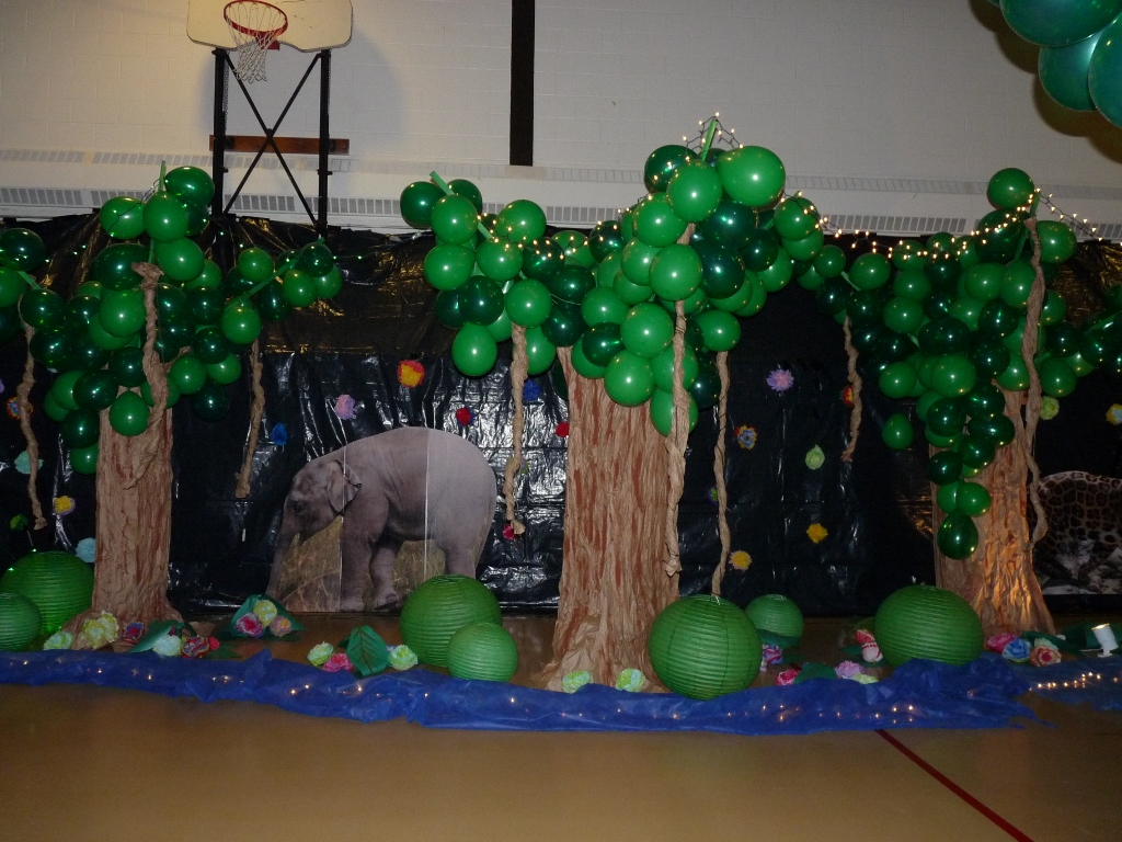 Stampsational 8th Grade Dance Jungle Theme