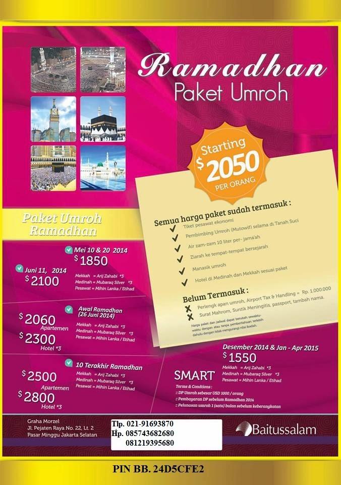 Paket Umrah Akhir Tahun 2014 Travel Baitussalam