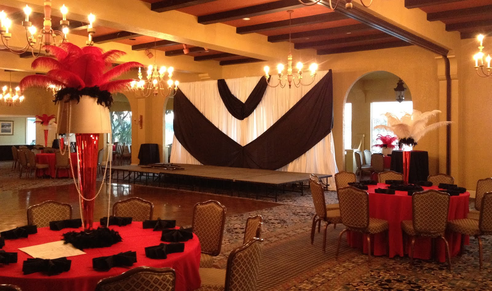 Party People Event Decorating Company Lakeland Yatch Club