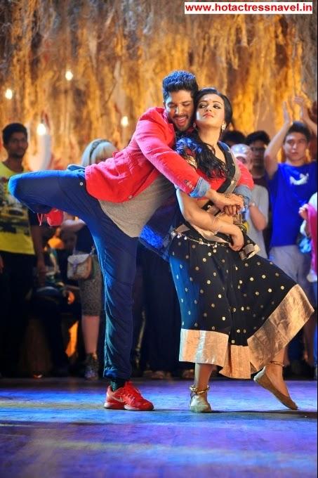 Catherine Tresa In Iddarammayilatho Telugu Movie
