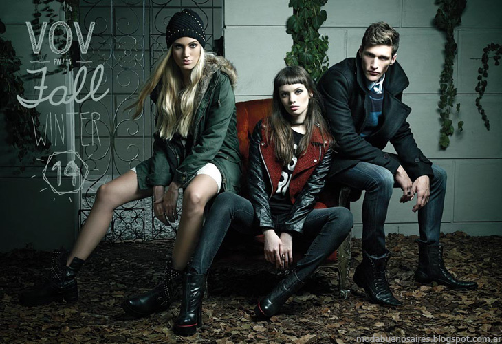 Moda otoño invierno 2014 Vov Jeans invierno 2014.