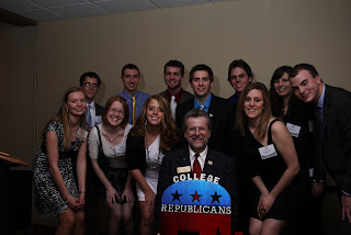 College Republicans at the University of Wisconsin, Eau Claire (UWEC) with State Rep. Warren Petryk