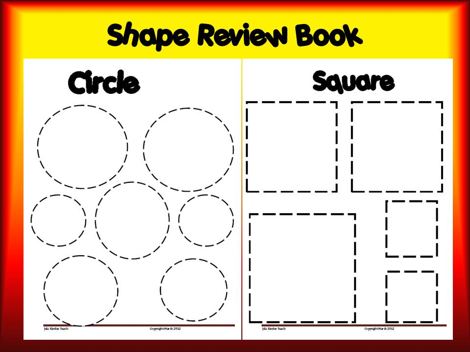 Use this Shape book with your students or children at home!