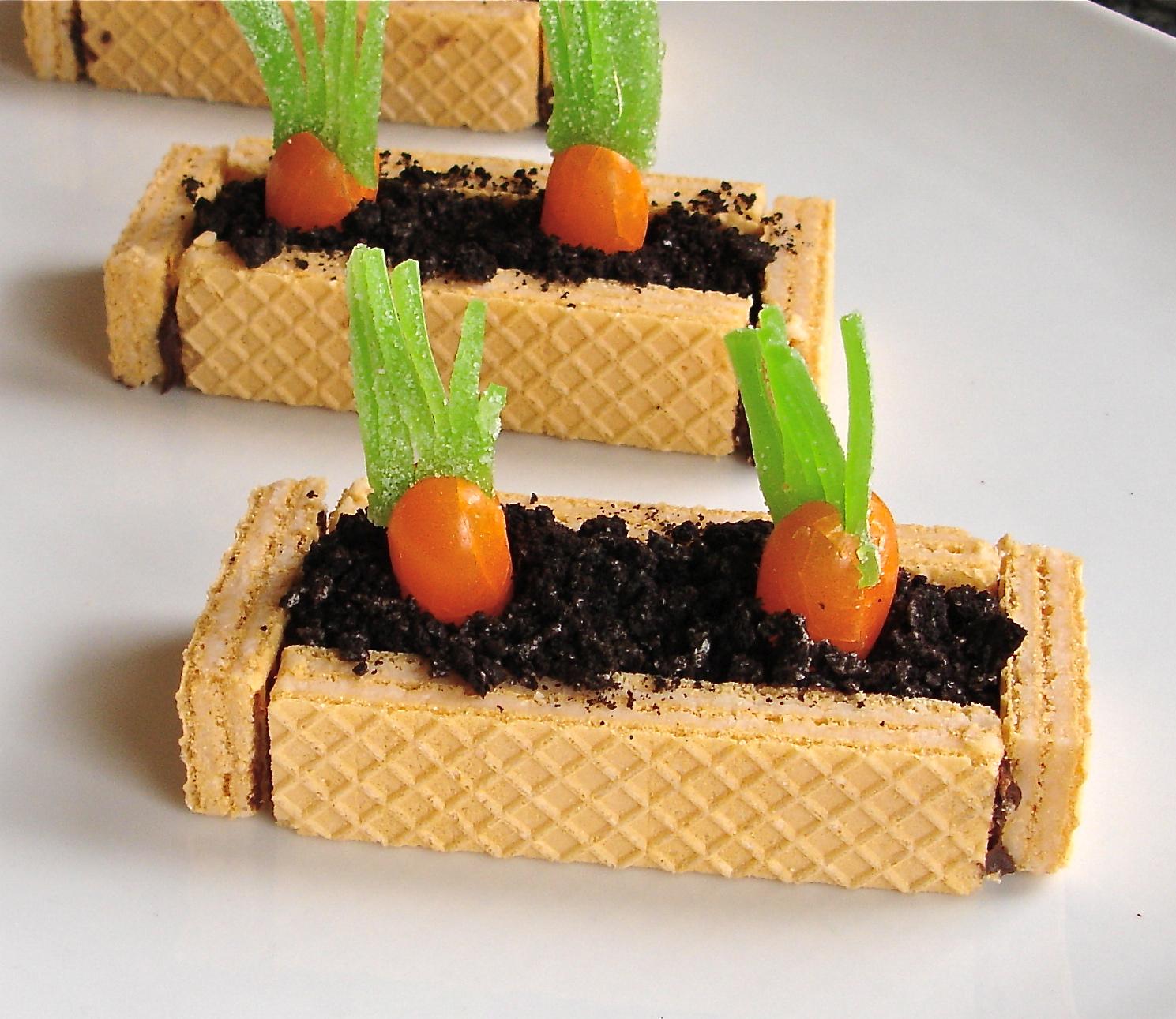 vegetable garden treats