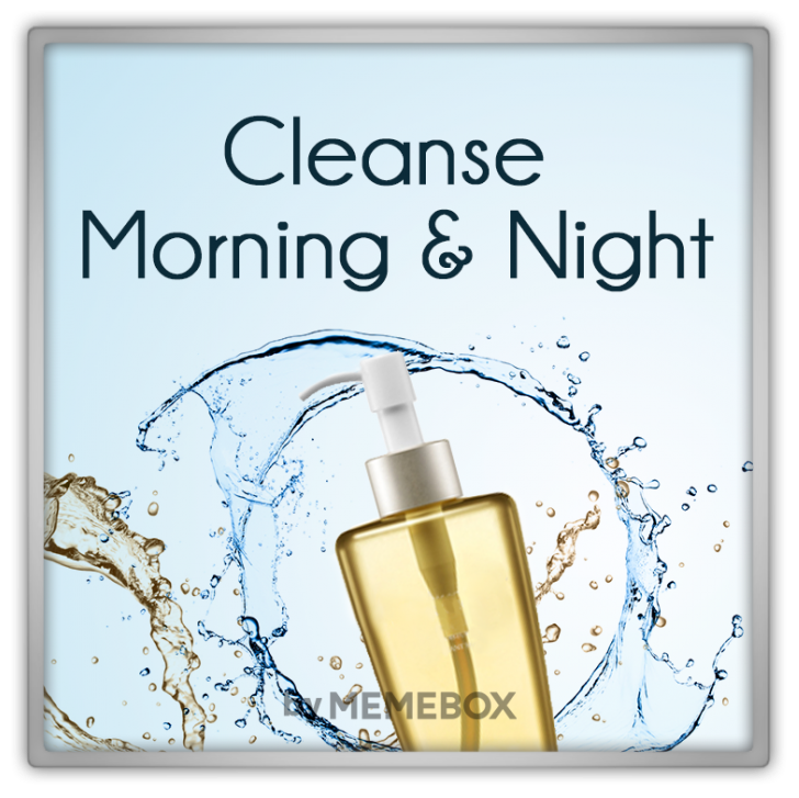 Memebox Cleanse Morning & Night 2015 미미박스 Commercial