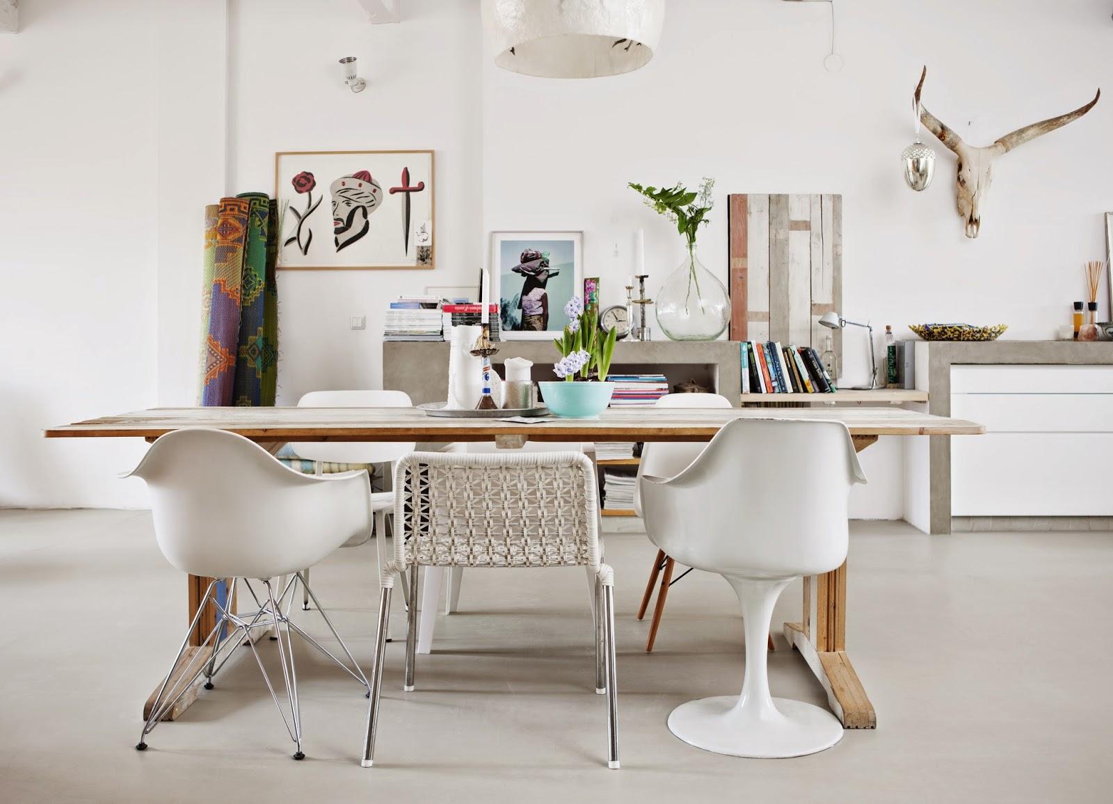 HOME TOUR :: Modern Bohemian apartment in Amsterdam