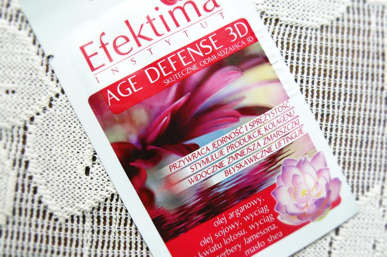 Efektima, Age Defense 3D, Maseczka Skutecznie Odmładzająca