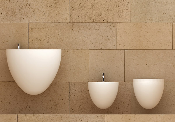 l'architetto risponde: ambiente bagno - ultime tendenze ... - Arredo Bagno Sanitari Sospesi