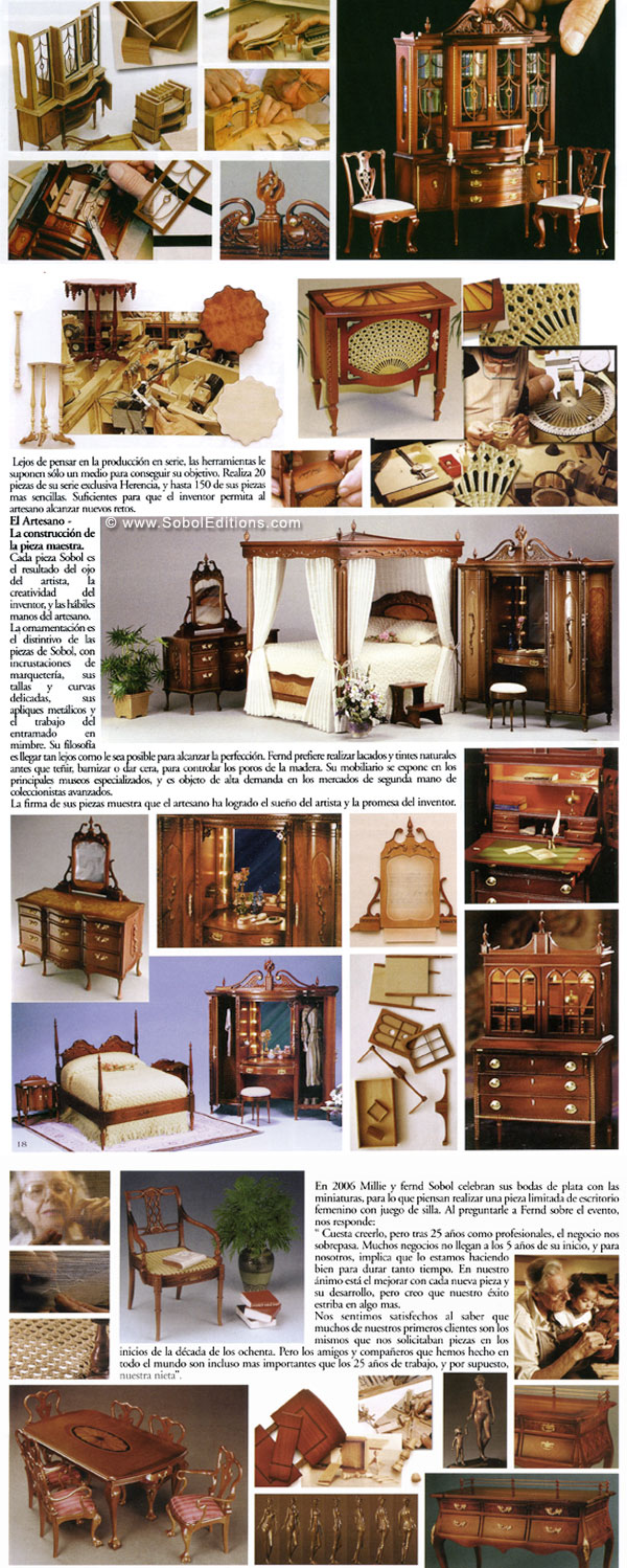 The ferd sobol editions spanish magazine miniaturas - Casa de munecas ...