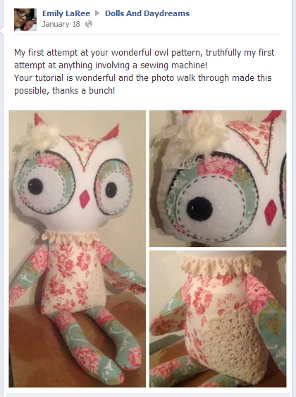 Dolls And Daydreams Doll Sewing Pattern Happy Customers Reviews