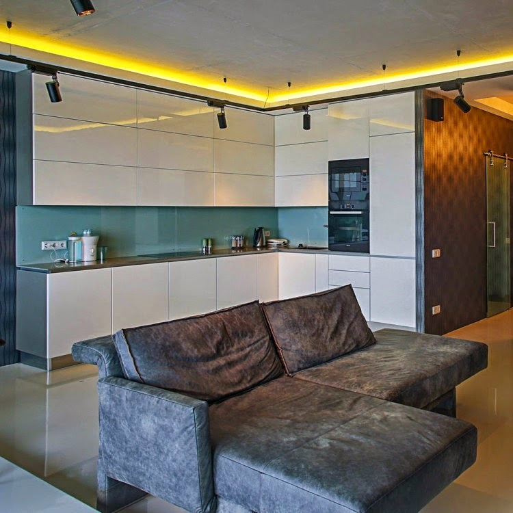 indirect lighting ceiling. indirect ceiling lighting in yellow color for kitchen i