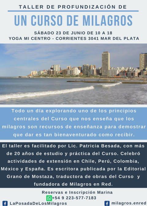 Taller en Mar del Plata