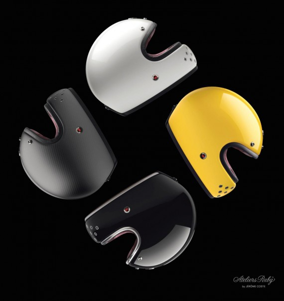 LES-ATELIERS-RUBY-CASTEL – COMPANY'S-FIRST-FULL-FACE-HELMET-Motorcycle-accessories